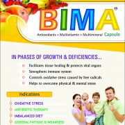 Flyer of Bima Capsule and Syrup made by Wantura Laboratories