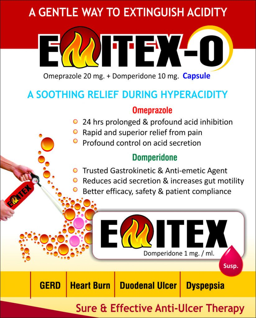 Flyer of Emitex-O Capsules made by Wantura Laboratories