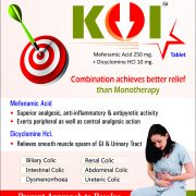 Flyer of KOI Tablet made by Wantura Laboratories