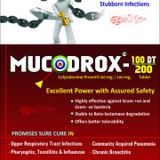 Flyer of Mucodrox-100dt Tablets made by Wantura Laboratories