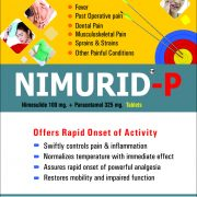 Flyer of Nimurid-p Tablets made by Wantura Laboratories