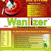 Flyer of Wanlizer syrup made by Wantura Laboratories