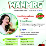 Flyer of Wanmarg Syrup made by Wantura Laboratories